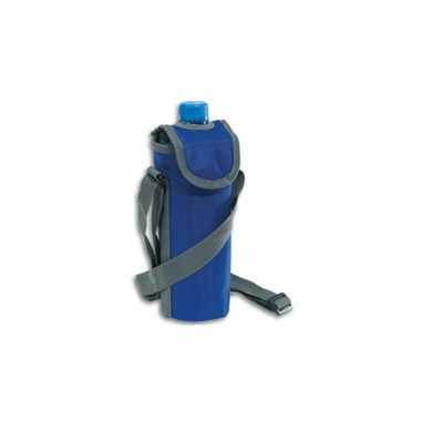 Flessen koeltasje met schouderband