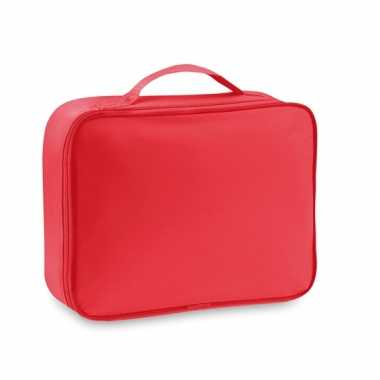 Koffer koeltas rood