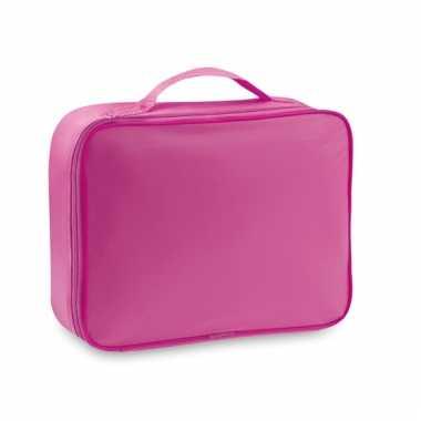 Koffer koeltas roze