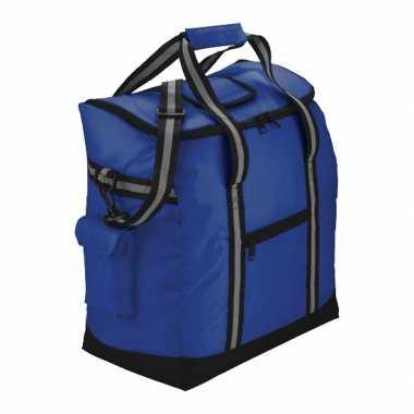 Luxe picknick koeltas blauw
