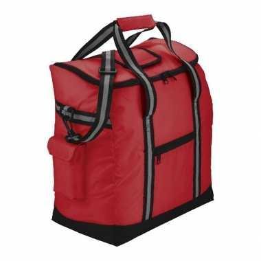 Luxe picknick koeltas rood
