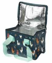 Alpaca lama print blikjeskoeler koeltassen voor sixpack 6 blikken